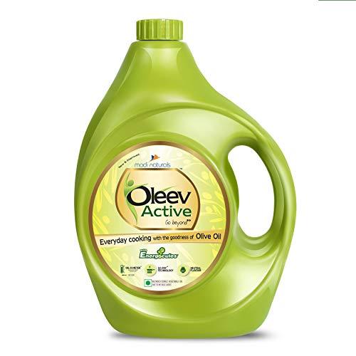 Oleev Active, with Goodness of Olive Oil Jar, 5L Jar