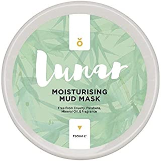 Moisturising Mud Mask by Lunar Glow - A Healing and Reviving Bentonite Clay Face Mask - 5 fl.oz/150ml