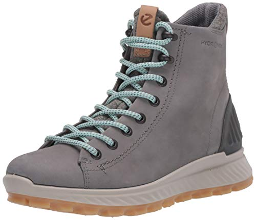 ECCO Damen EXOSTRIKEW Sneaker Outdoor Mid/High-cut Boot, Grau (Wild Dove 1539), 41 EU