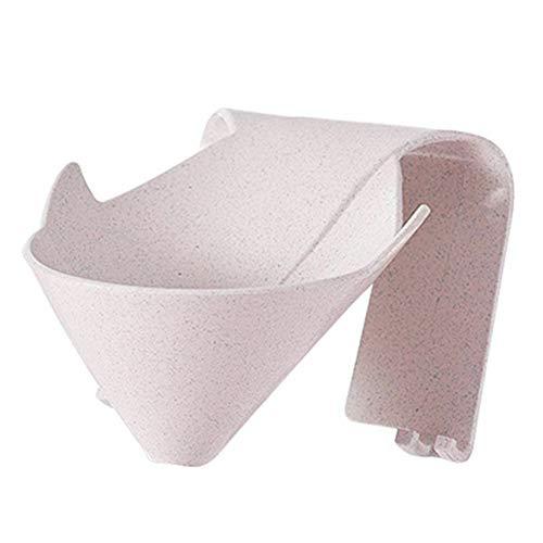 JsJr-K-In Caja de jabón, cajas de jabón para jabón casero, caja de jabón sin perforaciones, soporte de drenaje para colgar en la pared, herramientas para baño y cocina