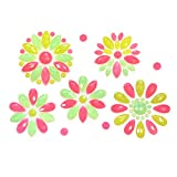 Neva Nude Mayan Blossom Neon UV Flower BodiStix Body Sticker