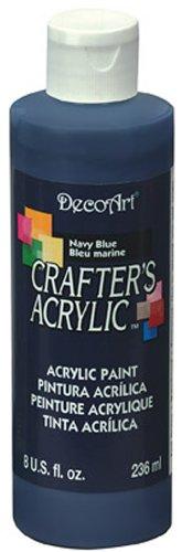 Peinture Acrylique Crafters Bleu Marine de DecoArt