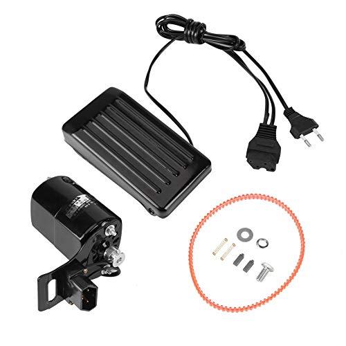 Motor de máquina de coser, pedal de control para máquina de coser motor para máquina de coser con cable de alimentación, 180 W