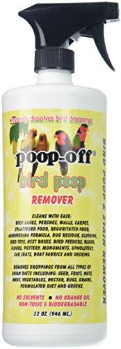 Poop-Off Pulvérisateur anti-déjections d'oiseaux, 907,2 g