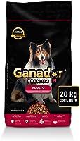 Ganador Premium 20kg, Alimento para Perros Adultos de Razas Medianas y Grandes. Recibe cualquiera de los dos equipos