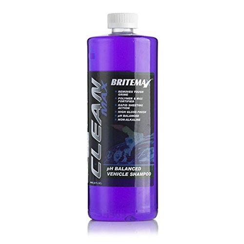 BRITEMAX BX125-16 Clean Max-pH Gebalanceerde Wax & Polymeer Versterkte Shampoo 473ml