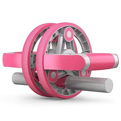 ZIEM Rolo abdominal multifuncional configurável silencioso, equipamento de exercício para homens e mulheres, casa, academia, ginástica, fitness