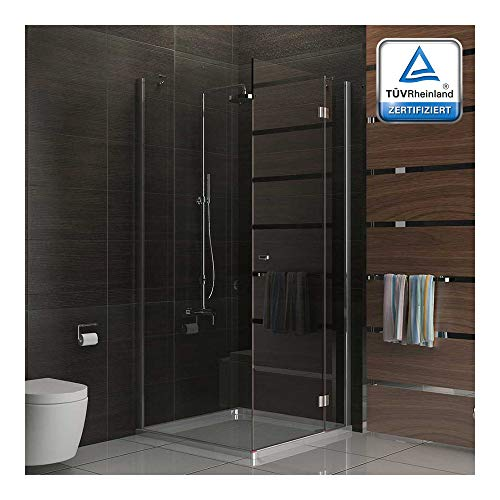 Cuadro gimnasio ducha/cabina de ducha funshirt/90 x 200 cm aprox ducha de cristal/alpen Berger/modelo Terri Clear/cabina de ducha de cristal de seguridad