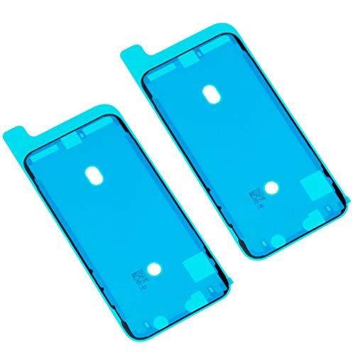Ewparts 2PCS Dichtungs-Band-wasserbeständige klebende Aufkleber, Ersatz-LCD-Anzeigen-Kleber für iPhone X