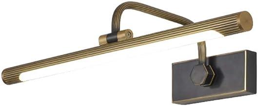 Spiegellampen, spiegel koplamp LED spiegel kast speciale badkamer spiegel lamp kaptafel American American koper Nordic Fre...