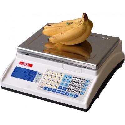 Balanza de comercio peso-precio con tickets – 15/30 kg – 5/10 g (15/30 kg)