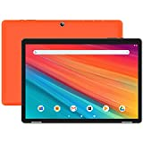 HAOQIN HaoTab H10 10 inch Tablet, Android 9.0 Pie, 2 GB RAM, 32 GB Storage, 2MP+5MP Dual Camera, Quad-Core Processor, 10.1 inch IPS HD Display, Wi-Fi, Bluetooth, Orange