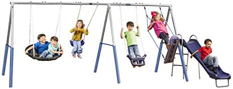 XDP Recreation Surf N Swing in Swing Set Gray product image