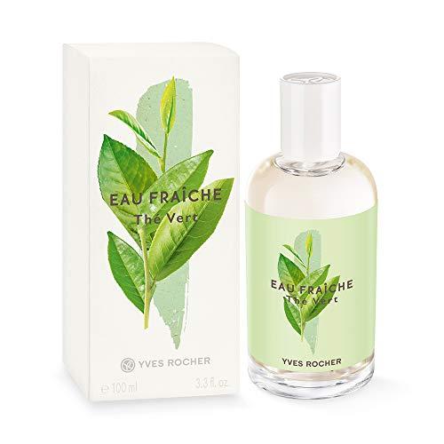 Yves Rocher LA COLLECTION Eau Fraîche Grüner Tee, erfrischendes Bodyspray für Frauen und Mädchen, 1 x Zerstäuber 100 ml