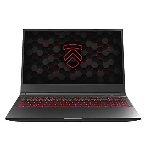 "Matrix RP-15 Ultra Performance Gaming Laptop PC: AMD Ryzen 4800H 8-Core CPU NVIDIA GeForce RTX 3060 Graphics 15.6"" 165Hz QHD 512GB NVMe SSD + 16GB 3200MHz RAM - Eluktronics Covert Gamer Notebook"