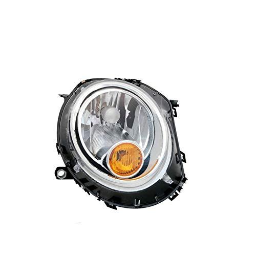 Proyector derecho modelo H4 eléctrico con faro naranja con motor, compatible con...
