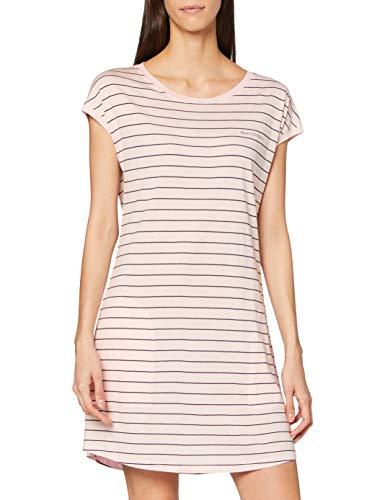 Marc O'Polo Body & Beach Damen W-Sleepshirt Nachthemd, rosa, L