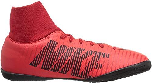 Nike JR MercurialX Victory 6 DF IC Fußballschuhe, Rot (Universität), 36.5 EU