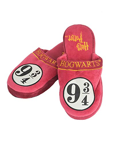 Groovy Harry Potter Slippers 9 3/4 Hogwarts Express