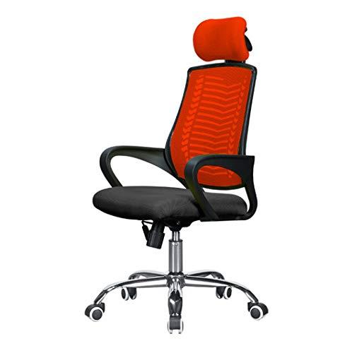 MMLI-Schreibtischstühle Computer BüRo draaistoelen mesh high-back hoofdsteun instelbaar ergonomische werkstoel werkkamer slaapkamer hoogwaardige metalen voet