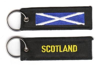 Schlüsselanhänger Schottland Anhänger Fahne Flagge NEU