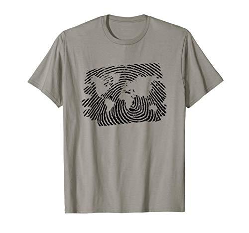 """Camiseta """"Mi identidad el mundo"""" Camiseta"""