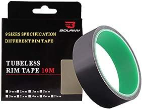 FRIFLY Tubeless Bike Wheel Rim Tapes Width 20/23/25/27/29/31/33/35/37 mm x Length 10 m, Bicycle Wheel Rim Strips Tape, Tubeless Vacuum Tire Pad Tape for Road Bike MTB (31mm)
