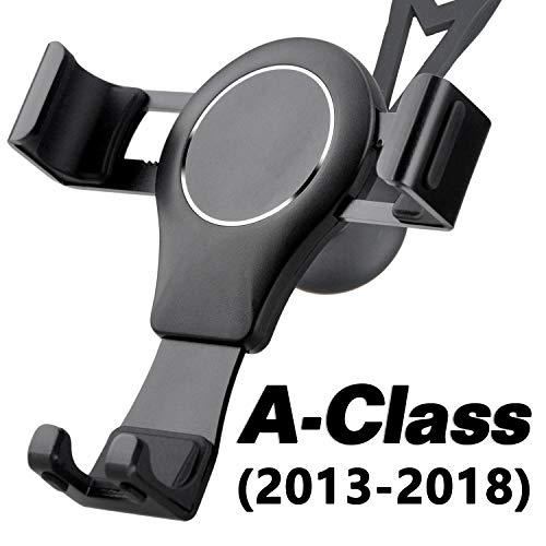 Handyhalterung für Mercedes Benz A Klasse, LüFtung Handy Halterung 360 Rotatable Verstellbar Metall Aluminiumlegierung Easy Mount Gravity Stabil Schwenkbar Universal Phone Mount Car Phone Holder