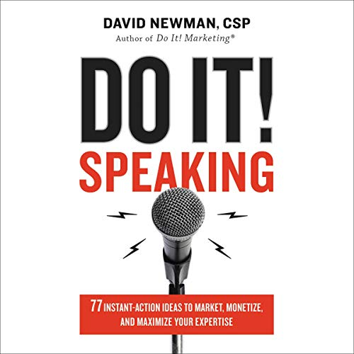 Do It! Speaking Audiobook By David Newman cover art