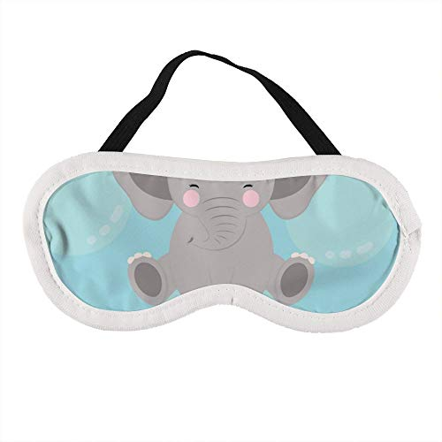 Tragbare Augenmaske für Männer und Frauen, niedlicher Elefant Baby, die beste Schlafmaske für Reisen, Nickerchen, gibt Ihnen die beste Schlafumgebung