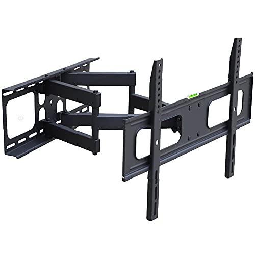 YDSZJ Soporte de Pared para TV, Soporte de Montaje en Pared para TV para Pantallas LCD LCD de Plasma Y Curvas, Hasta 45 Kg, Max VESA 400X400 Mm MultifuncióN/Negro / 40 / 65in