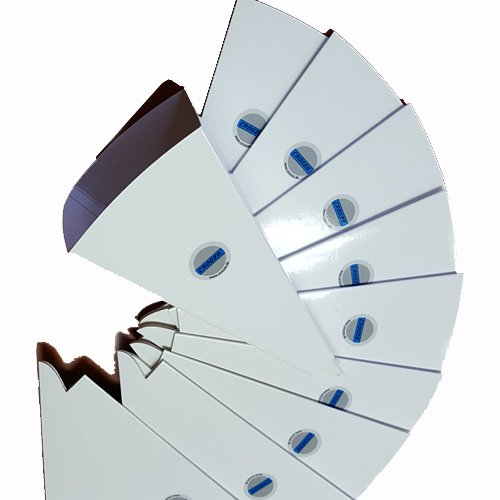 10x Qualitäts Einwegtrichter Papier Öl Trichter Papiertrichter saubere Ölwechsel Öltrichter