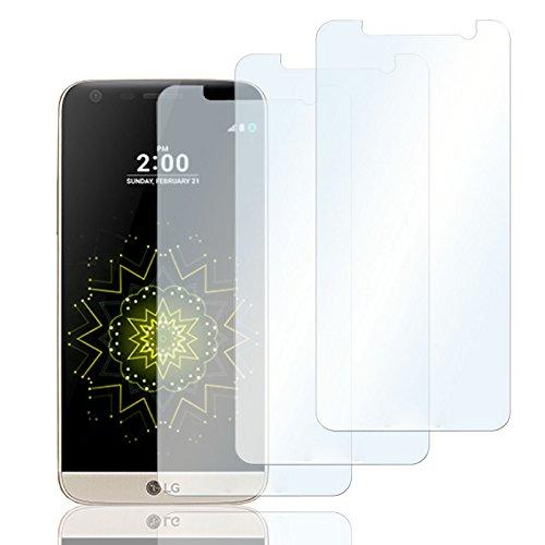 Eximmobile 3X Schutzfolien für LG L90 Folie | Bildschirmschutzfolie | Bildschirmfolie Schutzfolie | selbstklebend | transparent | blasenfrei | kein Glas | Flexible Folien