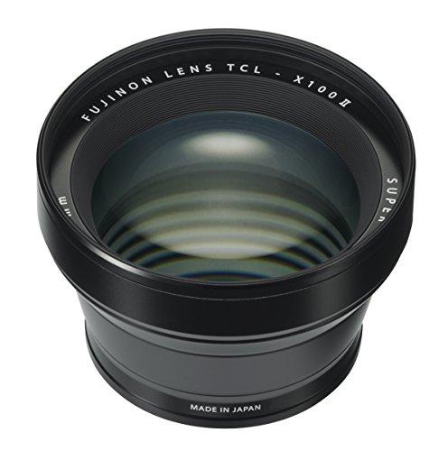 Fujifilm 16534742 TCL-X100 II - Convertidor tele para objetivos de cámaras, Negro