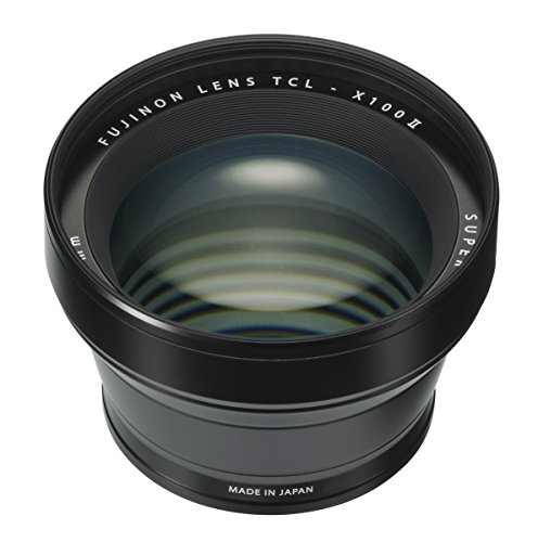 Fujifilm Fujinon Tele Conversion Lens for X100 Series Camera, Black (TCL-X100 B II)