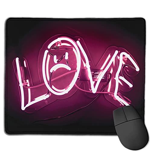 Lil Peep Love Mouse Pad Gaming Working Laptops Mouse Mat Non-Slip Rubber Base Mouse Pads One Size