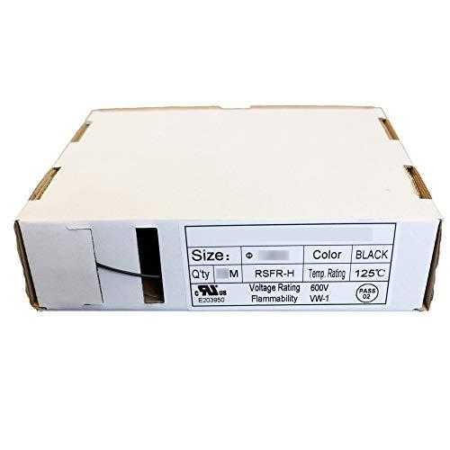 Schrumpfschlauch Box 3:1 mit Innenkleber schwarz halogenfrei in der Box 18 mm - 6 mm Premiumqualität wasserfest schwarz Halogenfrei Industriequalität