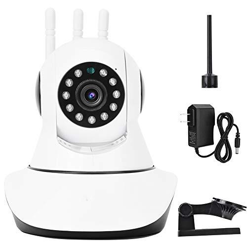 Cámara de Vigilancia Cámara Interiores WiFi WiFi Wireless HD IP Monitor De Bebé Cámara De Seguridad IR Con 3 Antenas Seguimiento Automático Seguimiento De Voz De Dos Vías Monitoreo De Seguimiento De V