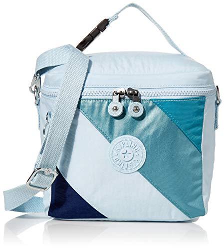 Kipling Graham Insulated Lunch Bag, blue mix Block
