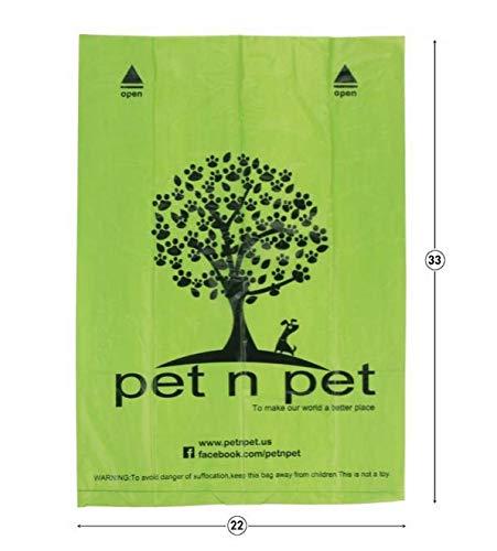 Bolsas biodegradables para heces de mascotas, cacas de perros, bolsas ecológicas gatos etc.