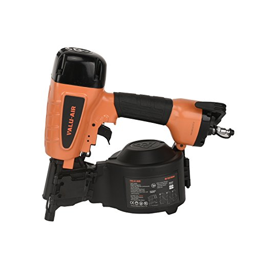 Valu-Air CN55R 15-Degree Pneumatic Coil Siding Fencing Nailer - 1-inch to 2-1/4-Inch for Siding, Fiber Cement, Fencing, Cedar Shake and Soffit Applications