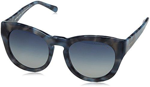 Michael Kors Summer Breeze Gafas de sol, Cadet Blue Marble 32094L, 50 Unisex-Adulto