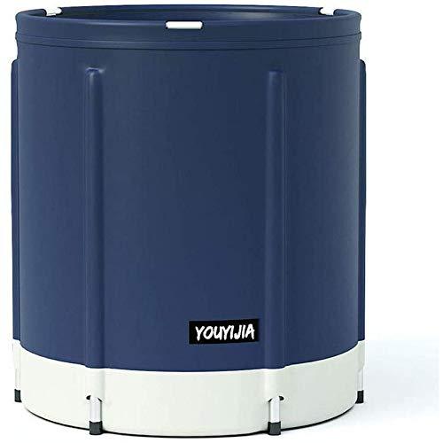 XQHD Bañera Adultos Plegable, SPA Portátil Barril Antideslizante para Ducha, Mantenimiento Eficiente De La Temperatura,E-M