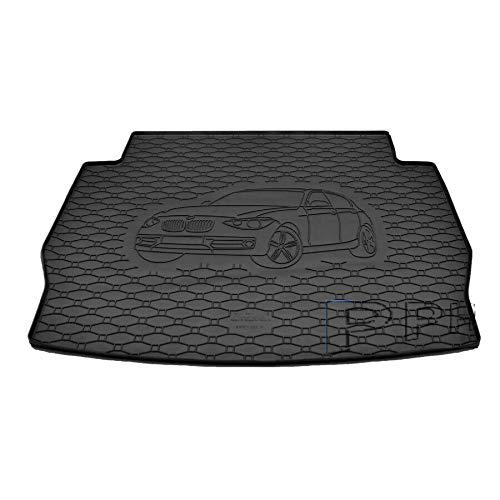 X & Z PPH – Alfombrilla para maletero para BMW Serie 1 (F20) a partir de 2011, goma antideslizante