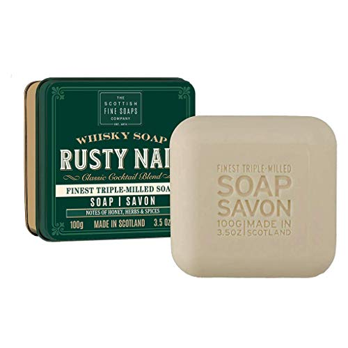 Scottish Soap Soap In A Tin Rusty Nail