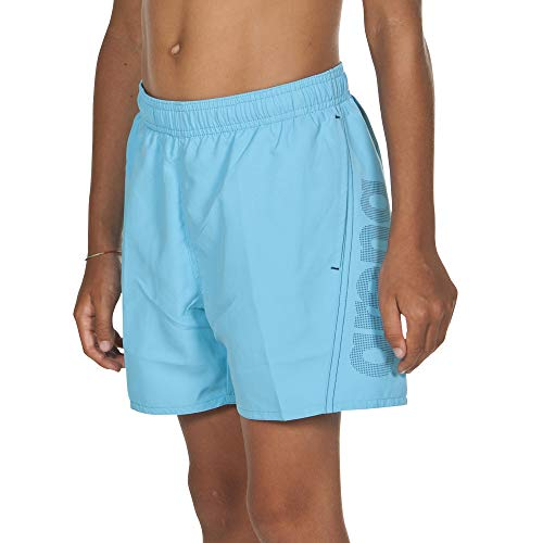 ARENA ARES5 Jungen Badeshorts Fundamentals Logo Boxer Junior sea Blue-Navy 140