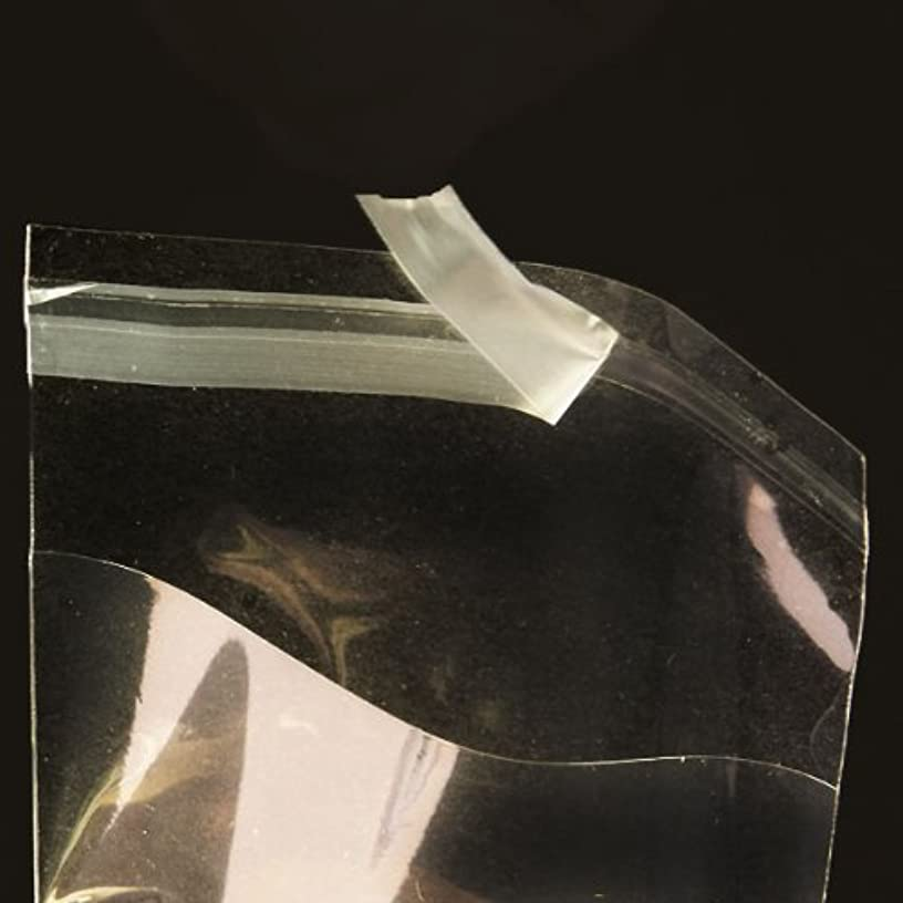 3 5/16in. X 5 1/8in. Flat Cellophane Bags with Adhesive Closure - pack of 100