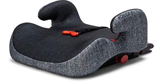 Osann Kindersitzerhöhung Hula Isofix Gruppe 3 (22-36 kg) - Black Melange