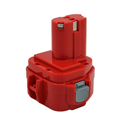 Kinon Reemplazo Herramienta Eléctrica Batería 12V 2.0Ah Para Makita Taladro Inalámbrico Destornillador 1220 1222 192598-2 192681-5 193981-6 638347-8 638347-8-2 PA12 6271DWE 6319D