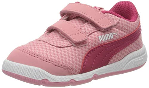 Puma Unisex bebé Stepfleex 2 Mesh Ve V Inf Zapatillas, Rosa (Peony/Bright Rose White 11), 24 EU